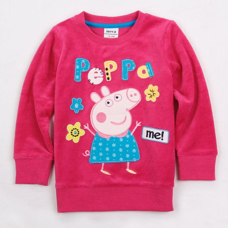Poleron Fucsia Peppa Pig