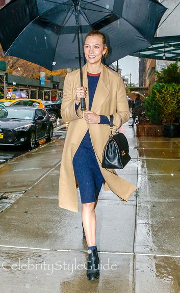 When It Rains It Pours Endless Style For Karlie Kloss