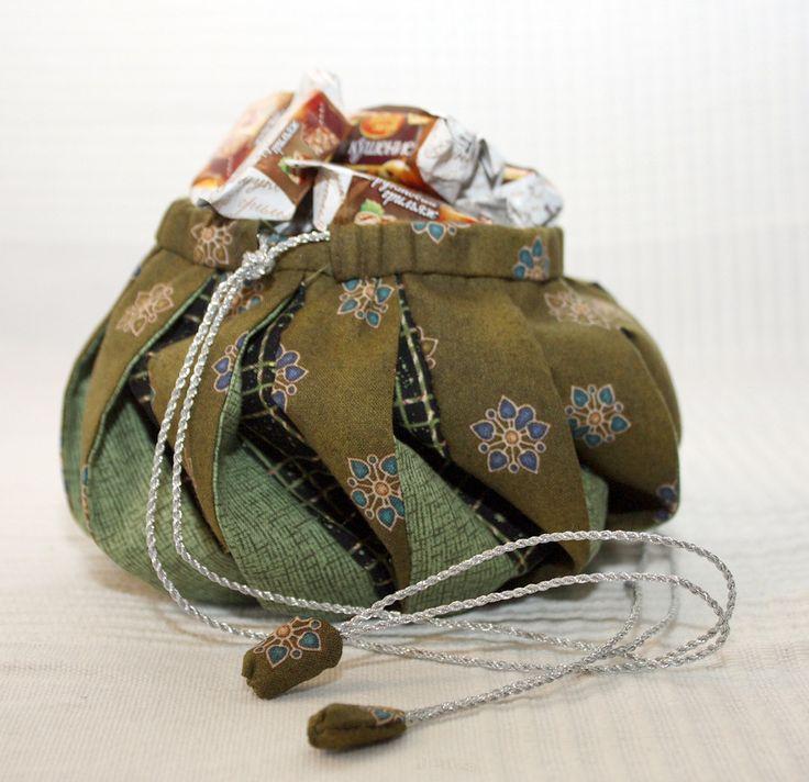 Omiyage Bag  Photo Tutorial. Craft Idea. Step by step DIY.