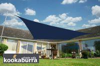 Toldos Vela Kookaburra Azul Cuadrado 5.4m (Impermeable)