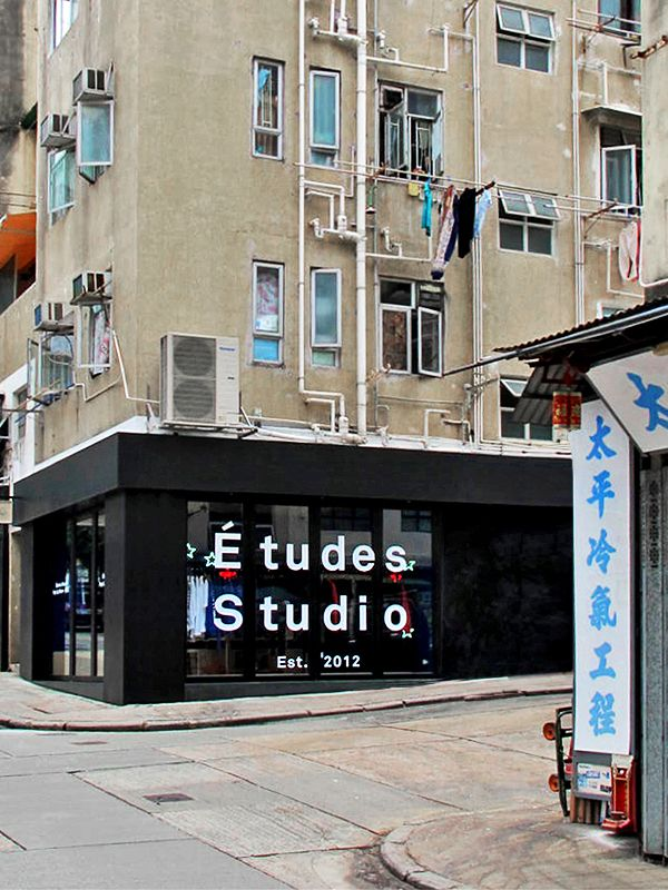 etudes-studio:  Études Studio Pop Up Store 香港in collaboration with JuiceJuice Sheung Wan18 A-B Tai Ping Shan StreetHong Kong Open from October 10th until November 2nd