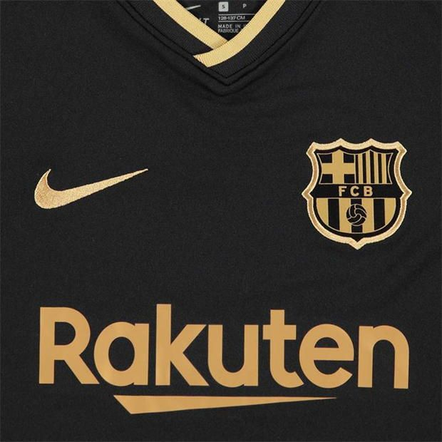 Nike Barcelona Away Shirt 2020 2021 Junior Barcelona Barcelona Jerseys Shirts