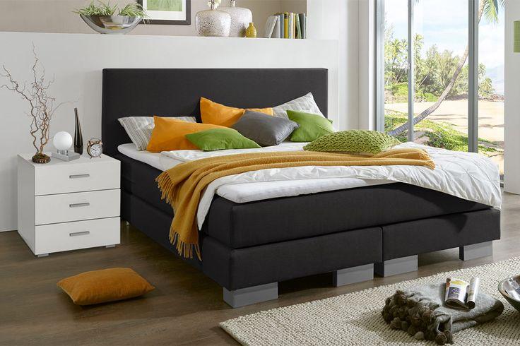 157 best boxspringbetten images on pinterest. Black Bedroom Furniture Sets. Home Design Ideas