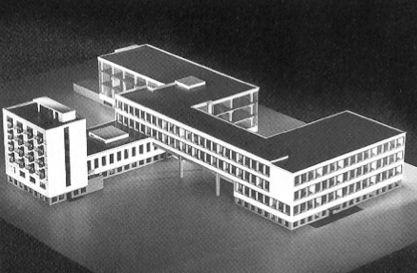 Gropius & Meyer: Bauhaus, Dessau, Germany: Architecture, Simplicity | The Red List