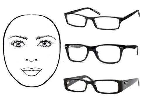 eyeglass frames for ROUND-shaped face Style... Pinterest