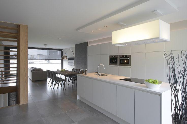 Leefkeuken in moderne belle-etage woning