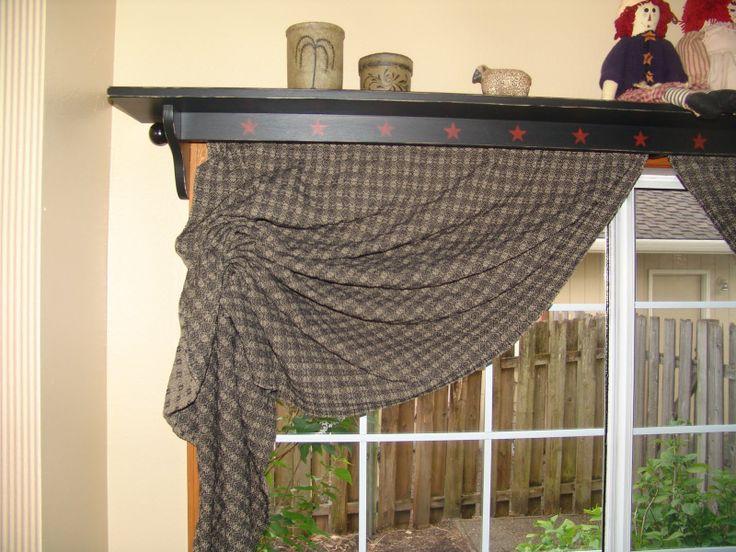 34 Best Images About Primitive Window Treatments On