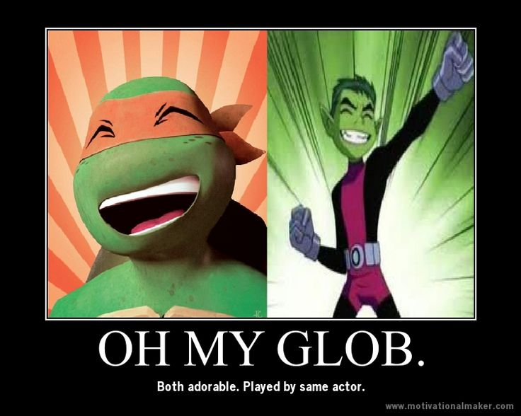 """OH. MY. GLOB. They have the same voice, the same """"smarts"""", and they both have the same colored skin."""