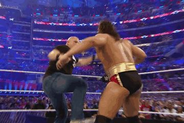 | Stone Cold Steve Austin and Rusev | Stone Cold Stunner | WrestleMania |
