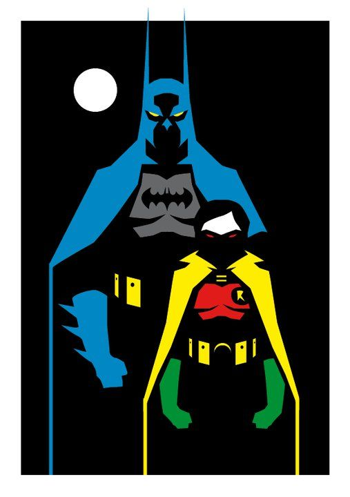 Bat mans taller than Robin