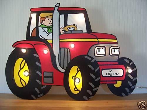 Die besten 25 spielzeug traktor ideen auf pinterest for Traktor lampe kinderzimmer