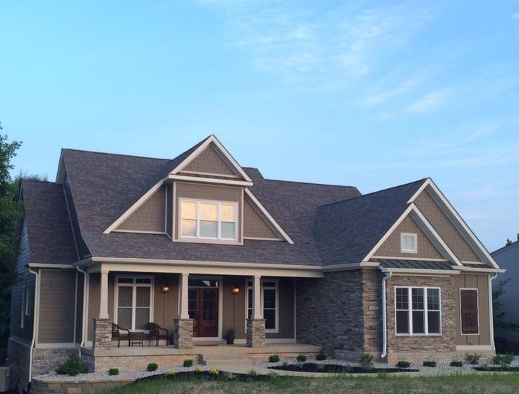 222 best house plans with photos images on pinterest for Kensington house plan