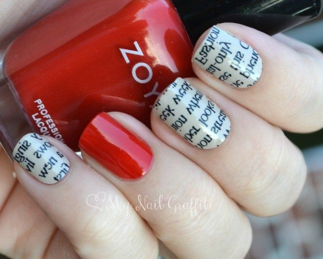 25 beautiful newspaper nail art ideas on pinterest diy nails unique diy newspaper nail art all for fashions fashion beauty diy crafts alternative health prinsesfo Choice Image