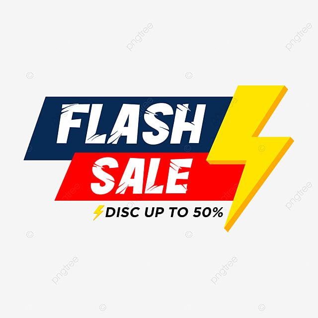 Flash Sale Shape Simple Colour Offer Label Sale Png Transparent Clipart Image And Psd File For Free Download Promotional Stickers Simple Colors Sticker Design