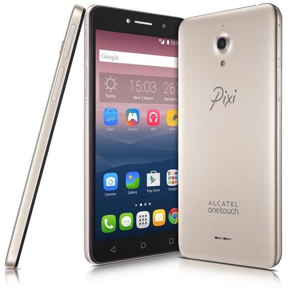 Mobilní telefon ALCATEL PIXI 4 (6) 8050D HD zlatý + dárek