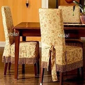 99 Best Images About Chair Slip Covers On Pinterest