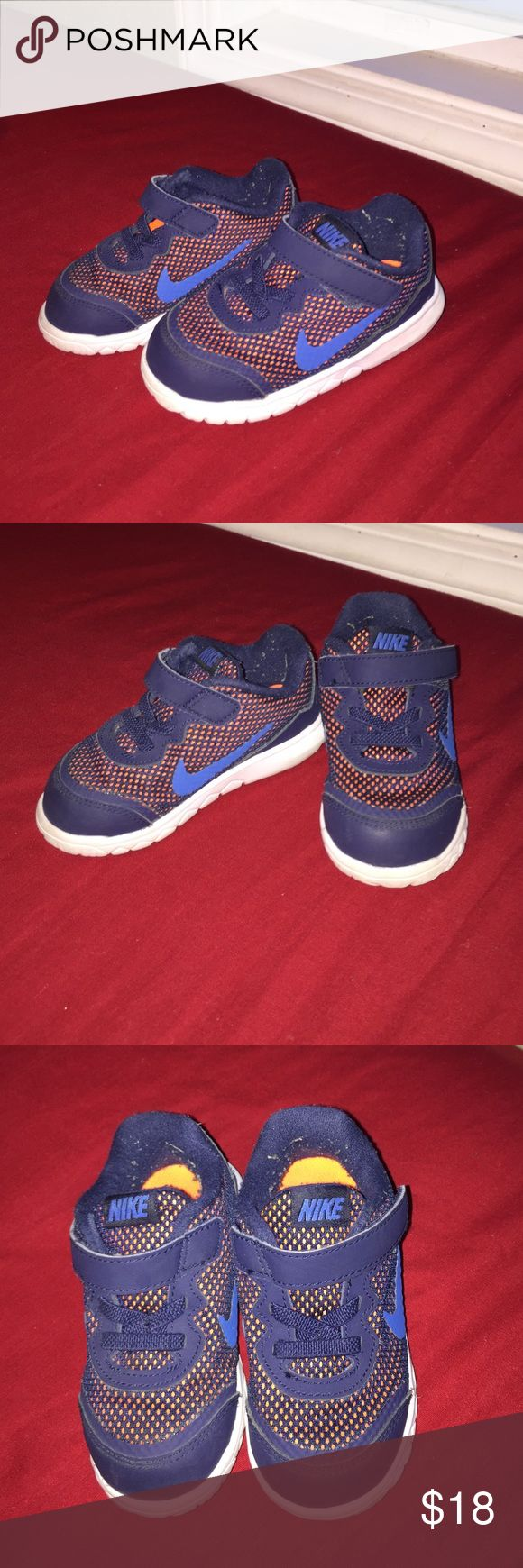 Baby Boy Nike Shoes Very cute for your little one. Like New Condition. Size 7C Nike Shoes Sneakers