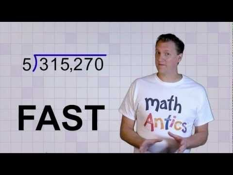 Math Antics - Long Division. I just finished watching this and I am seriously going to use it to teach long division tomorrow. It is the best movie out there so far.