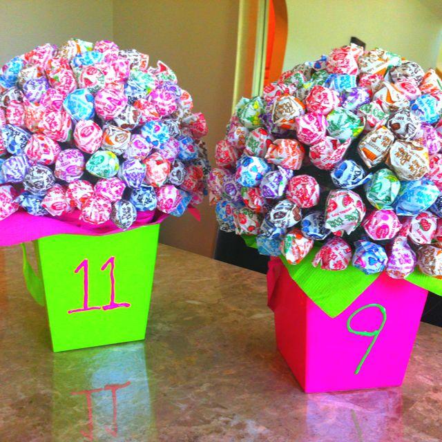 decorations centerpieces lollipoptree diy auction