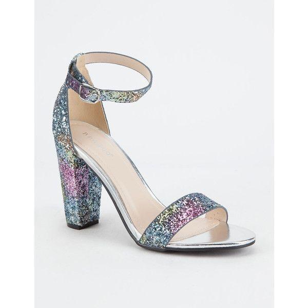 Aldo Shoes Womens Glitter Strap Pumps