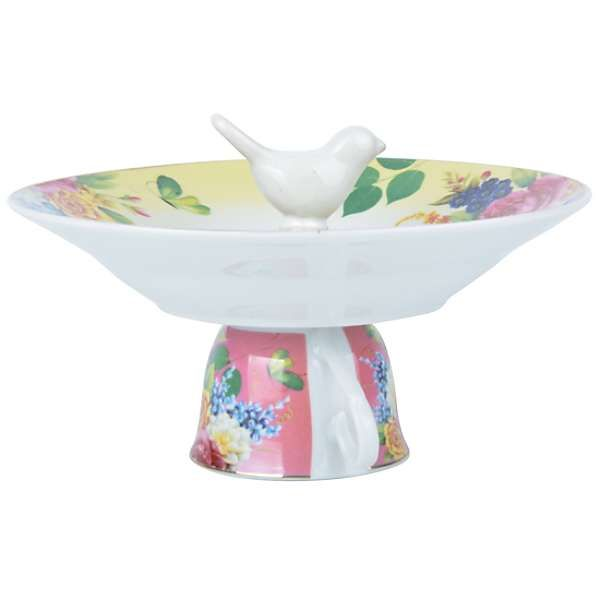Fallen Fruits Teacup Bird Bath
