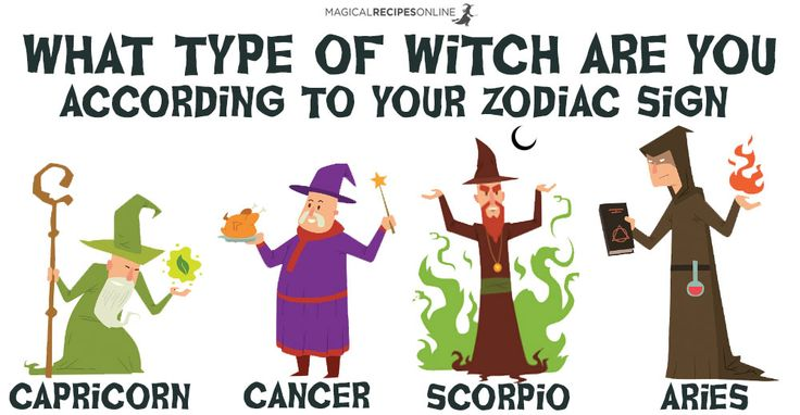 Which type of witch are you according to your zodiac sign for How do you find your zodiac sign