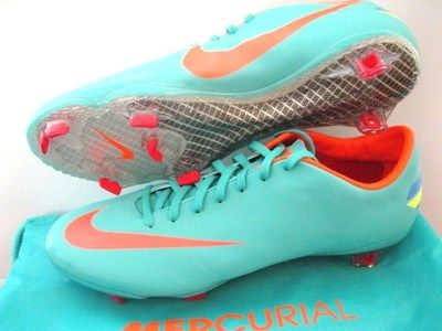 NIKE MERCURIAL VAPOR VIII FG FOOTBALL SOCCER BOOTS CLEATS | eBay | Gotta have em.