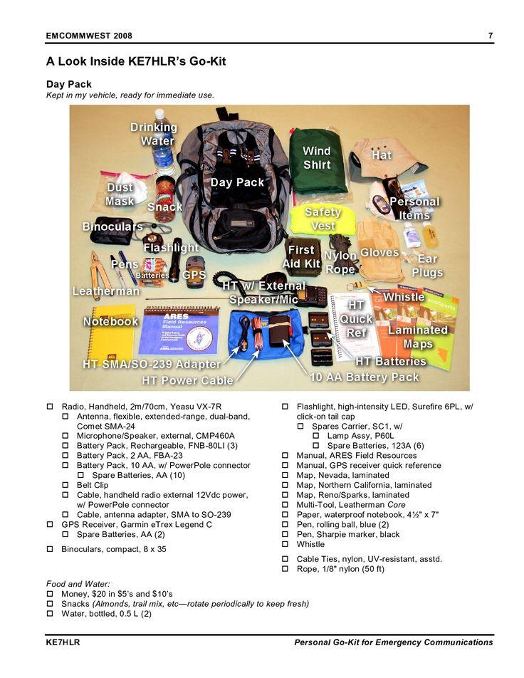 #Emergency #communication #go bag (pdf)