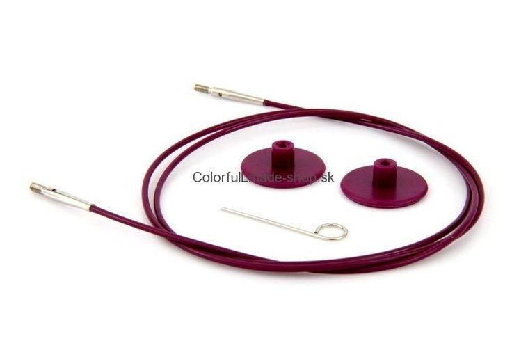 KnitPro Lanko k vymeniteľným ihliciam 60 cm