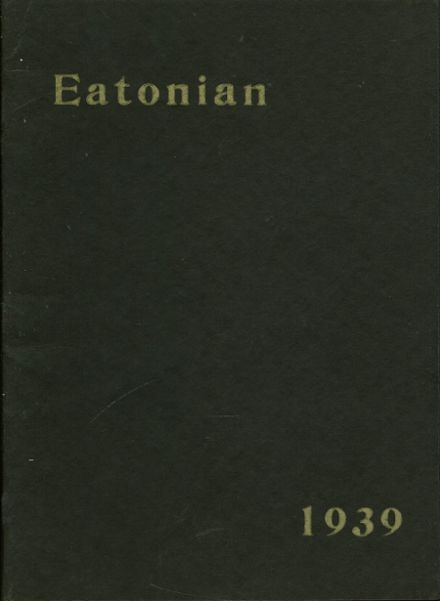1939 Eaton High School Yearbook via Classmates.com