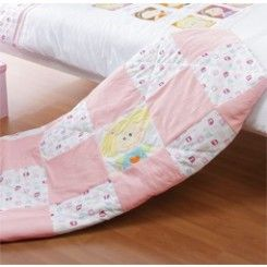 #PLAYGRO GIRLS AND TWIRLS QUILTED THROW