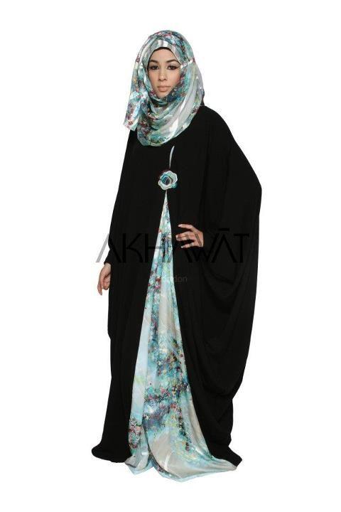 Dazzling  akhawat abaya design ideas