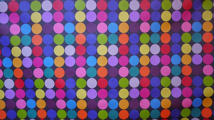 Tekstil voksdug med prikker 139 kr pr. meter www.skumhuset.dk