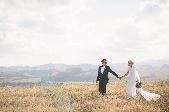 Stylishly rustic Matakana Wedding captured by Coralee Stone - via Magnolia Rouge