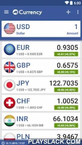 Currency Converter + Widget  Android App - playslack.com ,  mCurrency Converter is a simple and fast currency converter, providing up-to-date exchange rate information for over 170+ currencies and countries. It has a beautiful interface for quick access to conversions you need. mCurrency Converter great for traveling abroad or for watching foreign markets.**FEATURES**- Convert over 170+ currencies and exchange rates- Widgets- Create a custom currency (price, name, country, flag, symbol and…