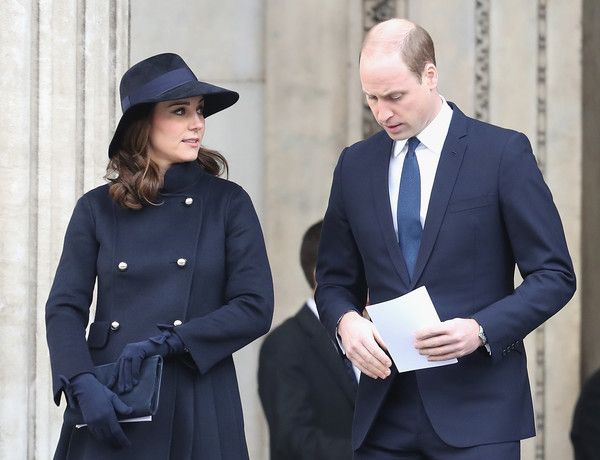 Kate Middleton Photos - Catherine, Duchess of Cambridge and Prince William, Duke of Cambridge leave the Grenfell Tower National Memorial Service held at St Paul's Cathedral on December 14, 2017 in London, England. The Royal Family and Prime Minister will join survivors of the Grenfell Tower at the memorial at St Paul's Cathedral for the six-month anniversary which killed 71 people. About 1,500 people are expected to attend the multi-faith service. - Grenfell Tower National Memorial Se...