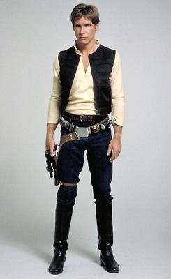 Han Solo - i guess if i ever did a star wars cosplay, this would be it - even if i had to change this to a female version :D