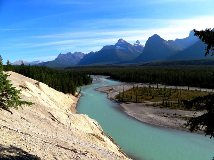 Jasper Banff Park Ice-Highway, Athabasca River