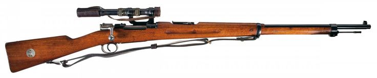 "573 - Custom WWII Nazi ""byf 44"" Code Mauser K98 Bolt Action Rifle with Short Rail Scope Assembly"