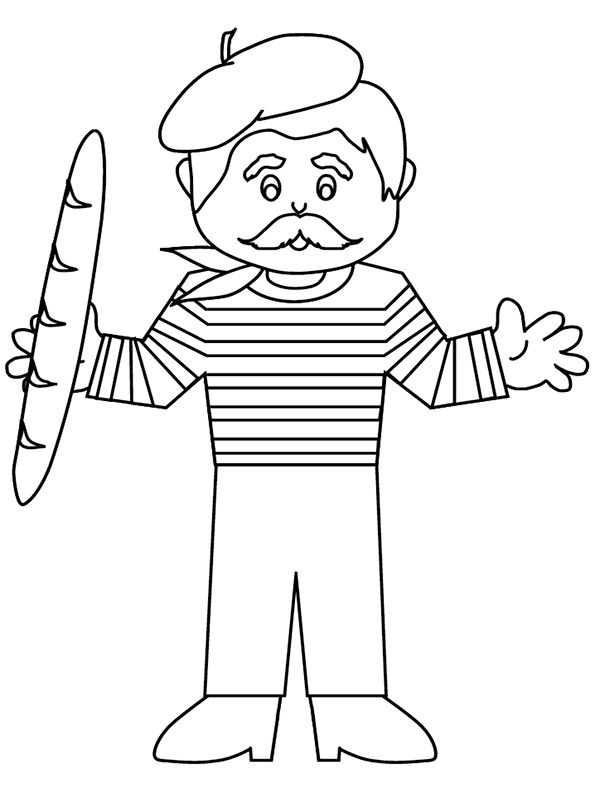 france coloring pages for girls | 32 best images about Thema de wereld on Pinterest | Rome ...