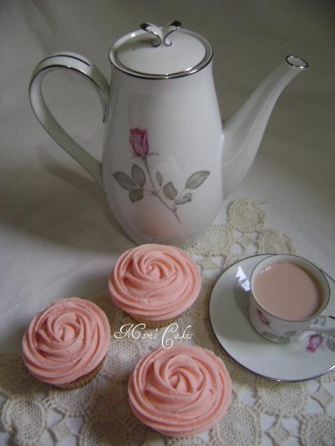 Mari's Cakes: Cupcake Rose