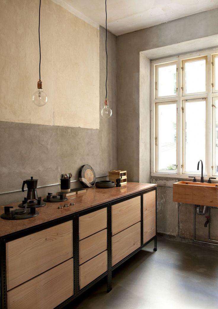 25 beste idee n over bistro keuken op pinterest rustieke keuken rustiek chique keuken en - Keuken rustieke grijze ...
