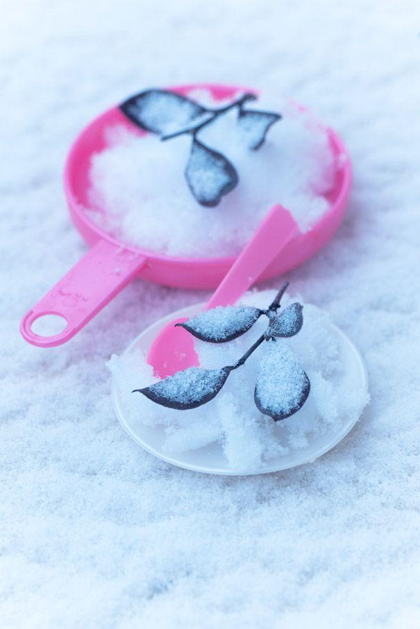 """Poele rose #girly et glace a la #neige, pour un petit gout d'#enfance !  http://www.marielys-lorthios.com/news/photographies-pour-noel/ #photographe #culinaire merci por le """"re-pin"""" #marielyslorthios"""