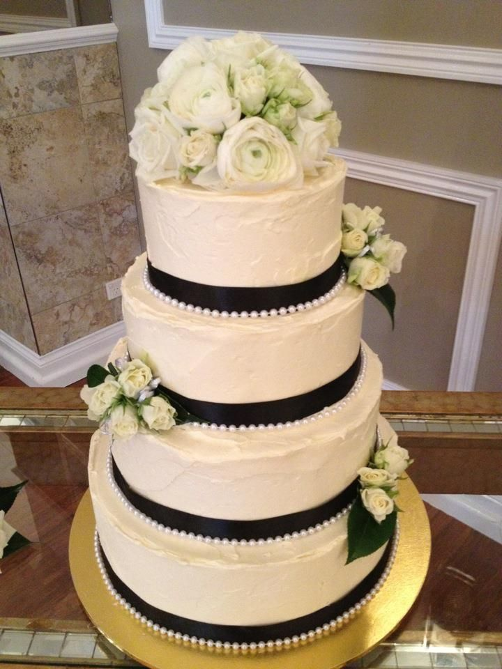 This is our wedding cake except ours will only be 3 tiers