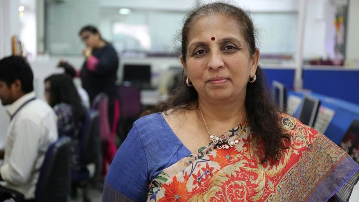 India's first female stockbroker who went on become the Bombay Stock Exchange's first female president.