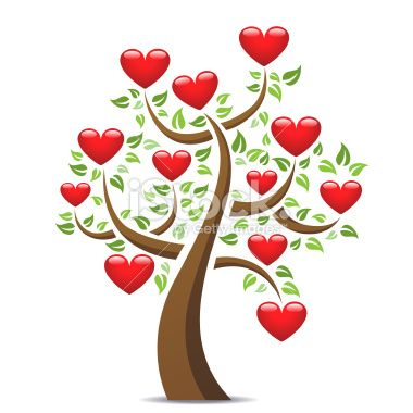 Love Heart Tree ❤