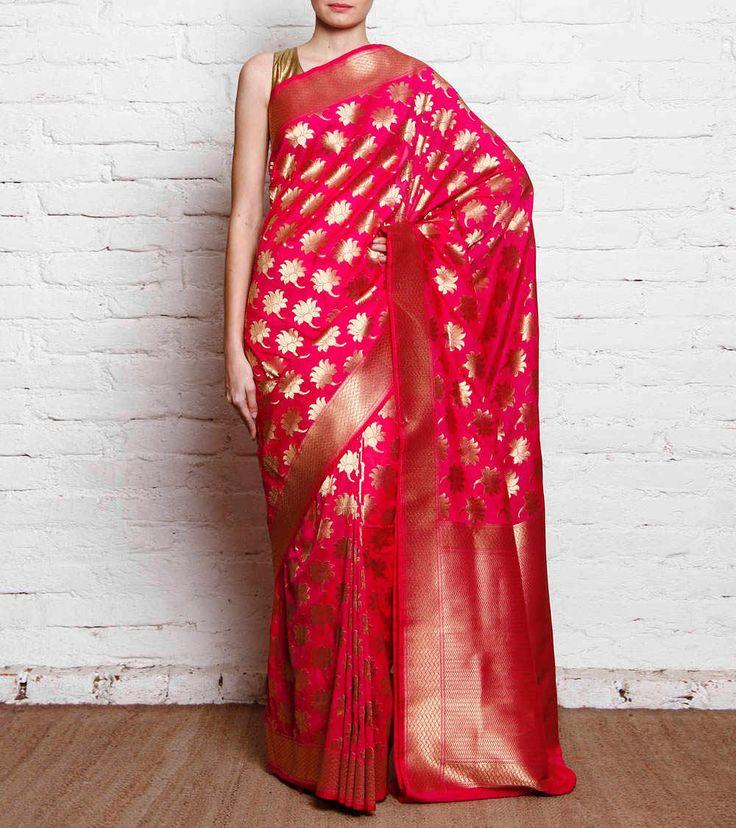 Beautiful Benarasi saree for that special occassion!
