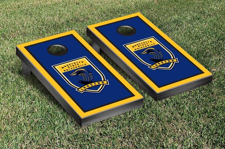Worcester Lancers Framed Border Cornhole Toss Game