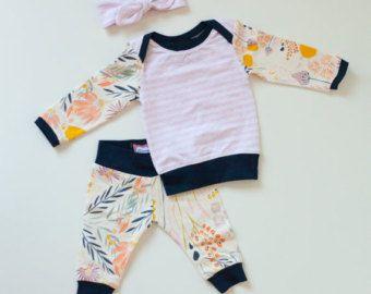 Minze & Citrus Baby Boy Coming Home-Outfit von SnugAsaBugClothes
