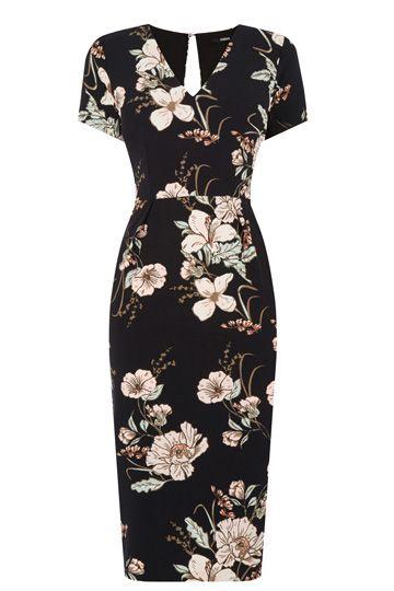 Vintage inspired Dress of the Week - Opium Pencil Dress by OASIS #pinup #retro #vintage